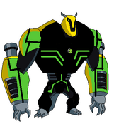 Armodrillo fusion with haywire upgrade not so good cauz i have lost touch with paint