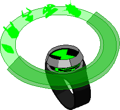 Infinity Omnitrix Hologram Wheel