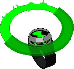 Infinity Omnitrix Hologram Wheel