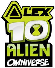 Alex 10 alien Omniverse Logo