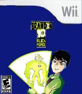 Brandon 10 Alien Force - The Game (Wii)