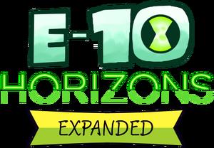 E-10 Horizons EXPANDED logo