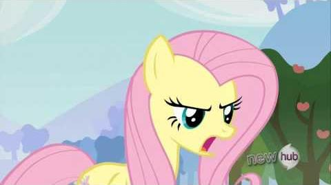 Fluttershy - Such language!