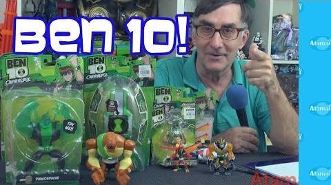 Ben 10 Reboot Toy News!