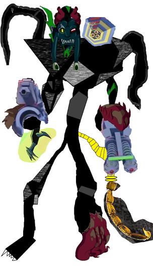 Super Mutant Cyborg Black Phantom