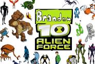 Brandon 10 Alien Force Logo