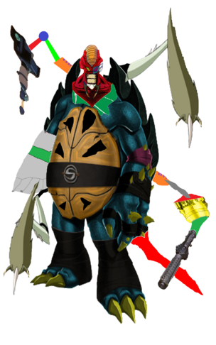 Super Mutant Cyborg Scarox