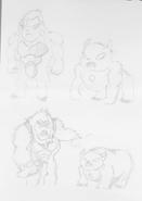 Ultimate Snow Bear Concept Art