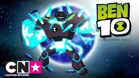 Sul pianeta di Roccia shock Ben 10 Cartoon Network Italia