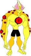 Caleb 13 as Eye guy