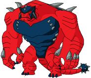 Red (Ultimate Humungousaur)