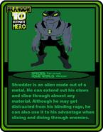 Trading Cards UH (Shredder)