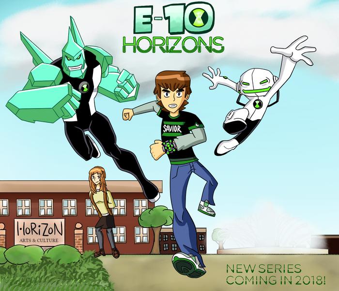 E-10 Horizons Poster