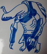 Muttjaws IRL Drawing