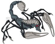 Nightmare scorpions