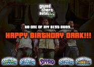 Darks Birthday Gift