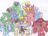 List of Imad 10 Villains