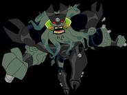 Vilgax Black Armor Action Pose