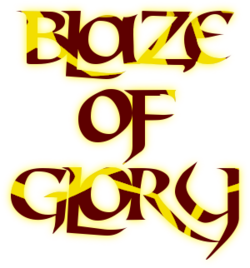 Blaze of Glory Logo