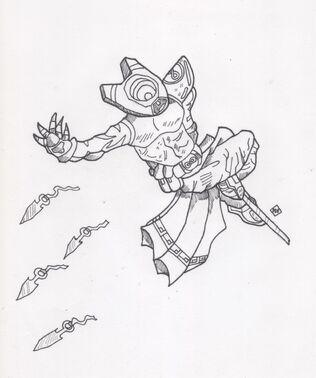 Forever Ninja character design