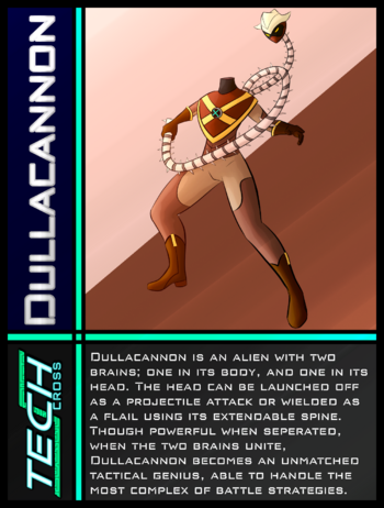 Tech Cross Card Dullacannon