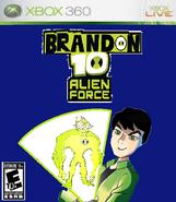 Brandon 10 Alien Force - The Game (XBOX)