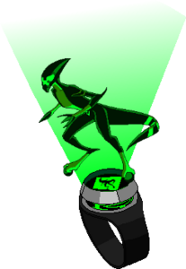 Infinity Omnitrix Hologram Green