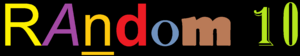 Random 10 Logo
