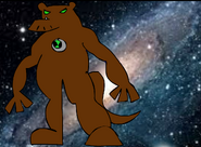 Official humungousaur(ben10- race against albedo