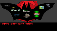 Sci's birthday gift to Toon