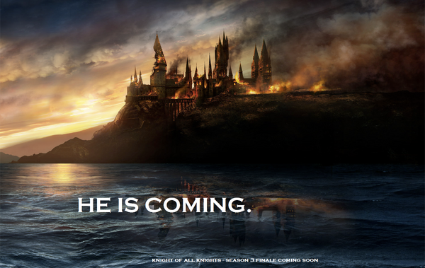 He is Coming Poster