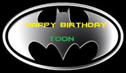 Happy Birthday Toon