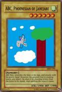 ABC Yu-Gi-Oh! Card
