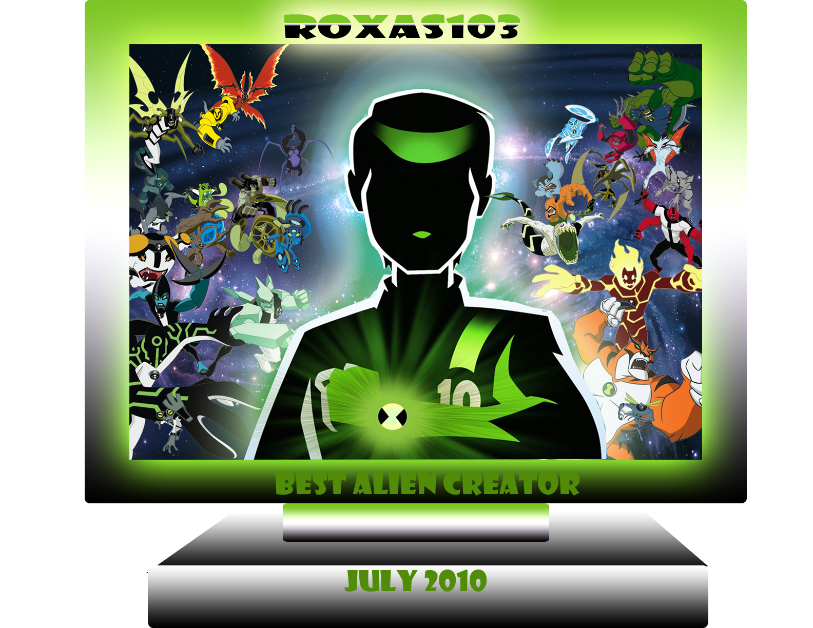 Ben 10 000 Of Ben 10 Ultimate Alien By Dlee1293847 On: The 10,000 Alien Contest