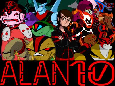 Alan 10 Poster