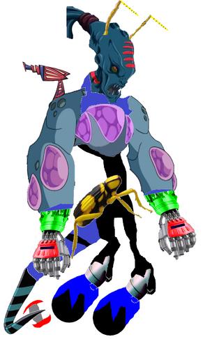 Super Mutant Cyborg Speeda Demon