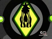 Omnitrix showing Benmummy