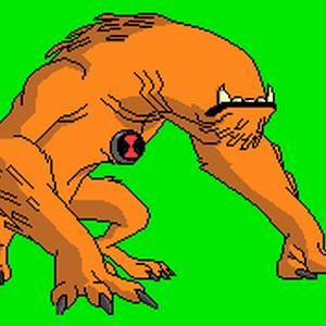 Ben 10 Omniverse Wildmutt Coloring Page - Ben 10 Aliens and ... | 300x300