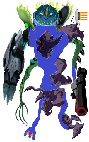 Super Mutant Cyborg Drilldozer