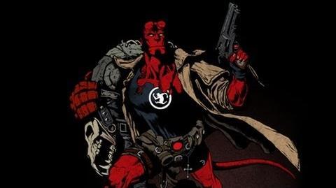 Superhero Origins Hellboy