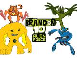 List of Brandon 10: Alien Force Aliens