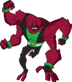 16 year old omniverse four arms