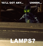 Big Chill Lamp Meme