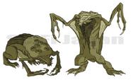 Ben 10 Rogue hero Swamp beast