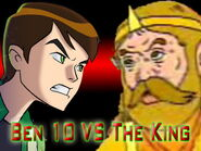 Ben 10 vs the king