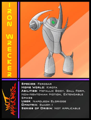 NA Card Iron Wrecker