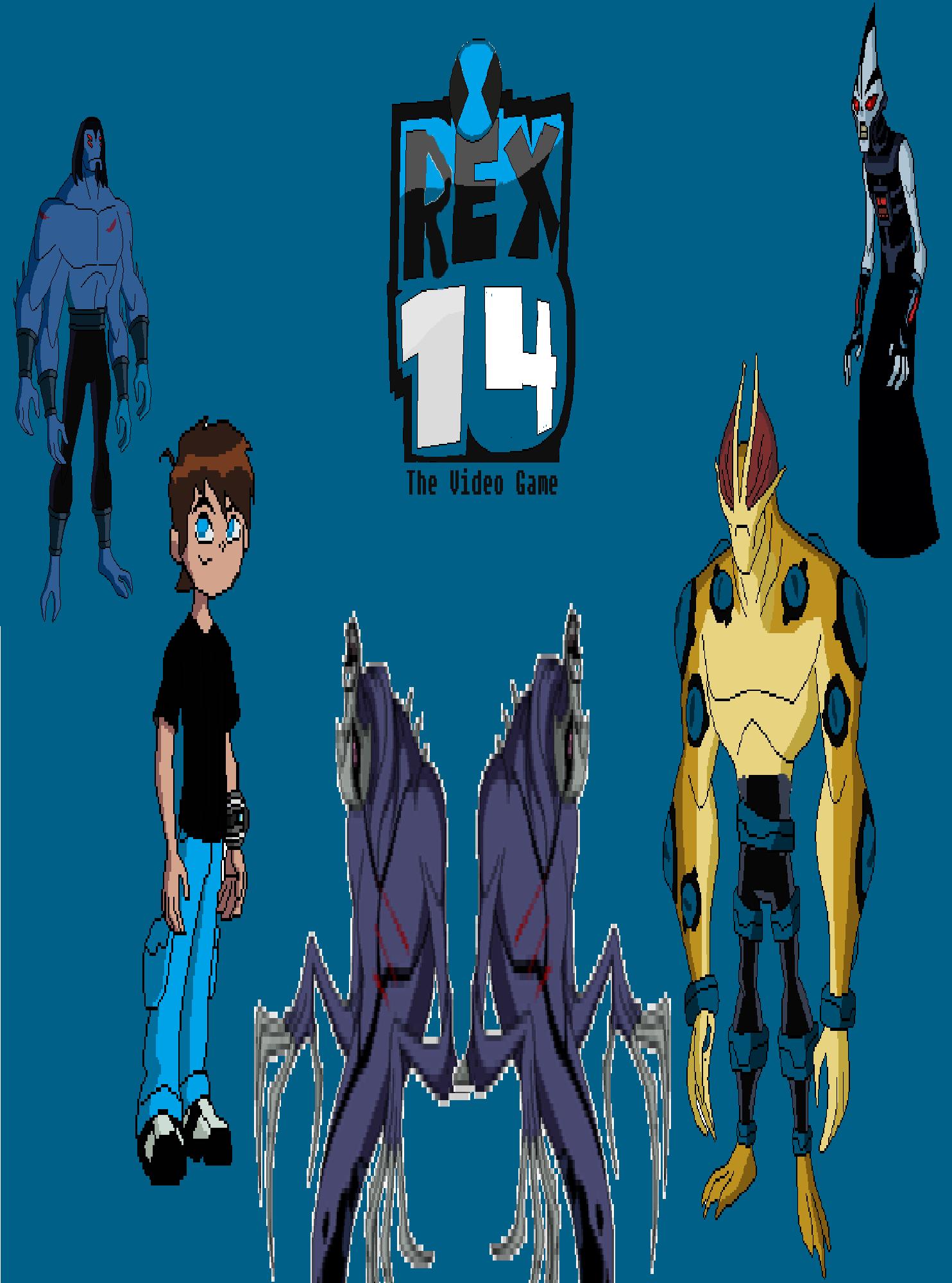 Rex 14: The Video Game   Ben 10 Fan Fiction Wiki   FANDOM powered by ...