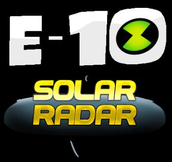 E-10 (Solar Radar Logo)