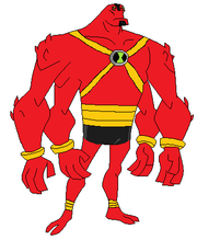 UA Four Arms Omniverse style