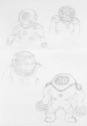 Hydro-Man Concept Art